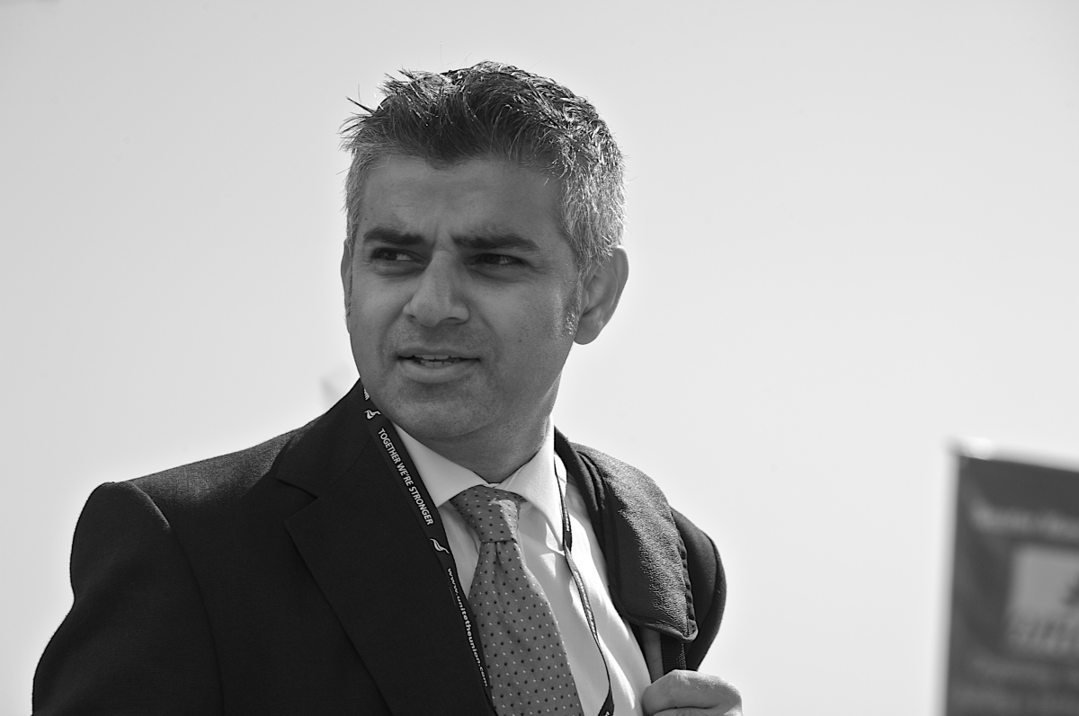 Labour candidate for London Mayor Sadiq Khan helps celebrate World Mental Health Day
